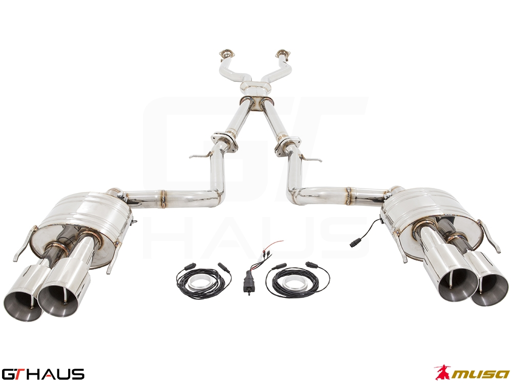 Lexus RC series (2014+) RC-F (V8) 4x102 gtc sus with LXR pipe 01