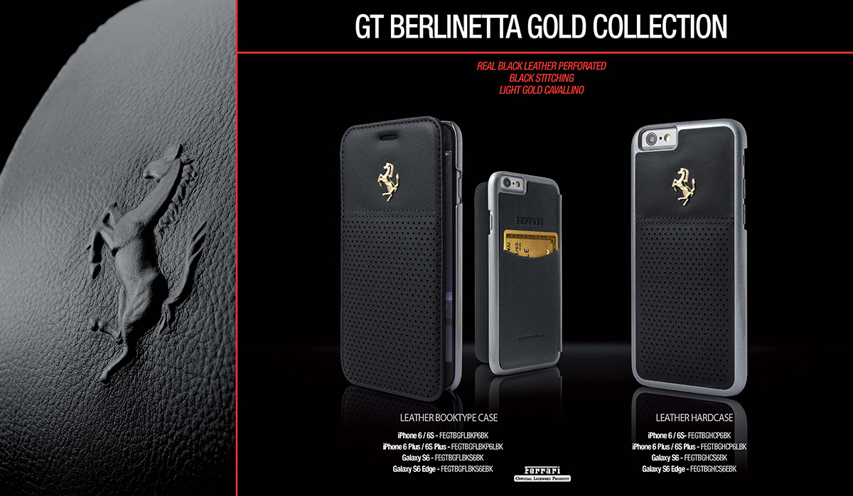 Officially Licensed Ferrari Gt Berlineta Collection Gold