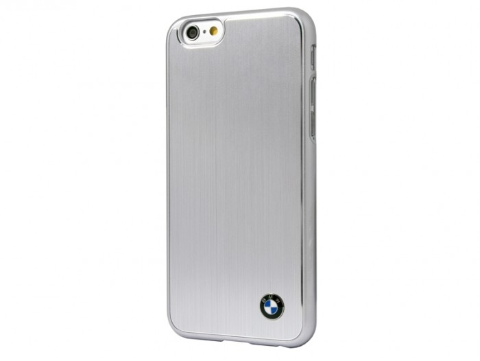 bmw brushed aluminium hardcase silver BMHCP6MBS