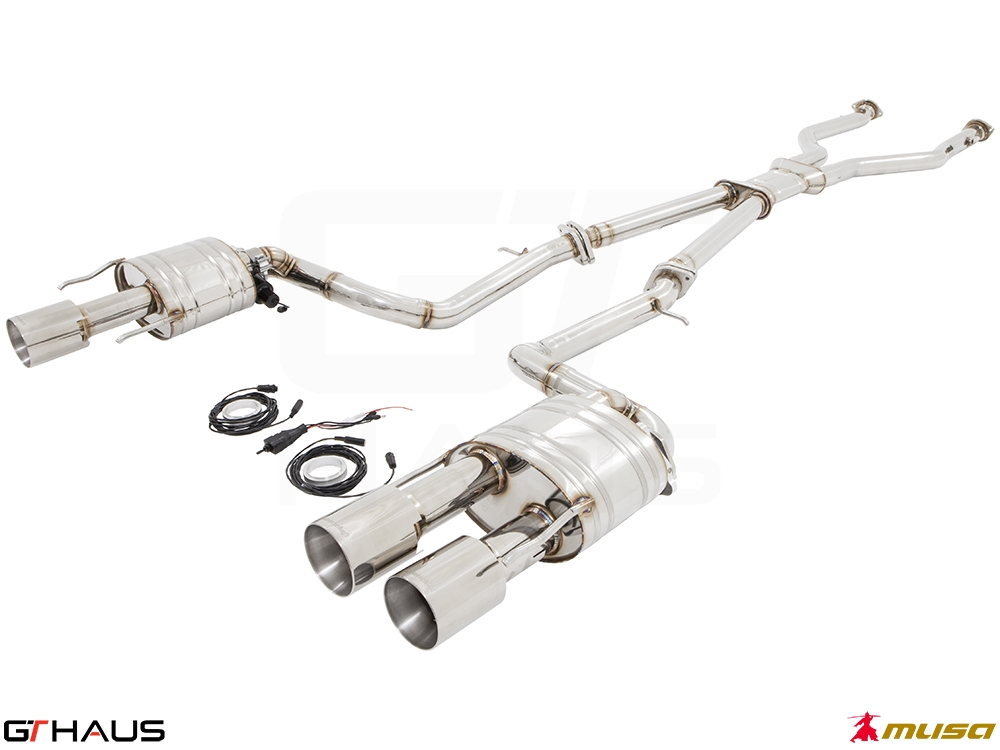 Lexus RC series (2014+) RC-F (V8) 4x102 gtc sus with LXR pipe 03