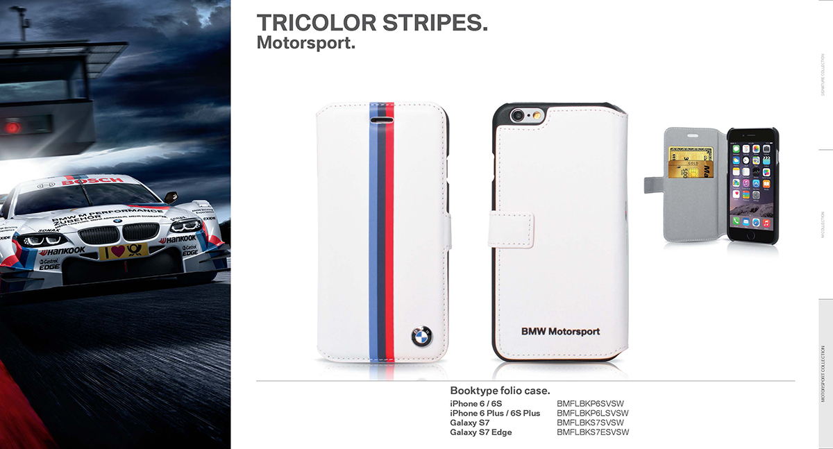 BMW 2016 motorsport collection pu leather 3